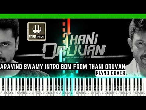 aravind-swamy-intro-bgm-from-thani-oruvan-piano-cover-by-prem-anand-|-free-midi-file