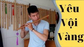Yêu Vội Vàng ( Lê Bảo Bình )  Cover Thắm sáo