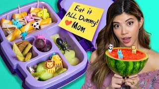 I tried Edible Food Art on Tik Tok | Kids Lunch
