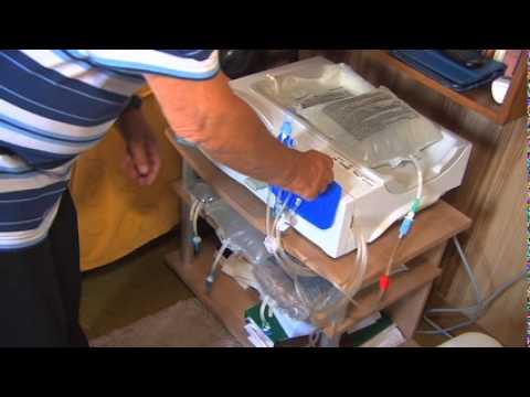6. Peritoneale dialyse bij de patiënt thuis: met het cycler toestel