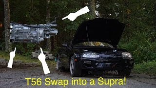 T56 Magnum Swap Kit For MKIV Supra!