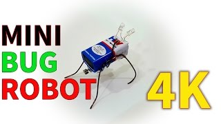 How to make Mini Bug Bot | Ant Robot | Very Easy & Super Simple!