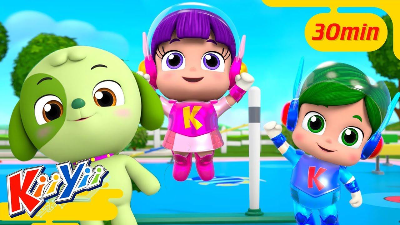 Johny Johny + 30 Minutes of Kids Learning Videos!   KiiYii   Nursery Rhymes & Kids Songs