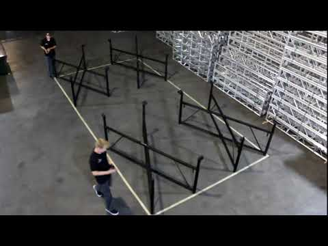 How to Assemble a Smartstage Fast-fold Staging System