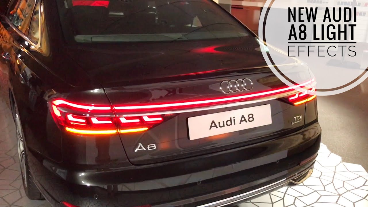New Audi A8 Oled Lights Amazing Effects Youtube