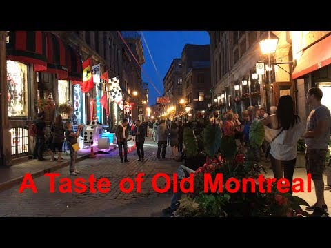A Taste of Old Montreal (4k Ultra HD)