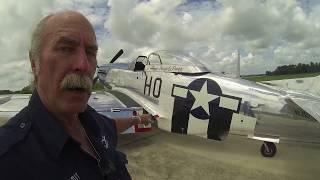 North American P-51D Mustang - Part 1 - Walkaround - Kermie Cam