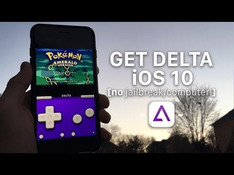 How to install Delta Emulator on iOS 10! (No Jailbreak/Computer)