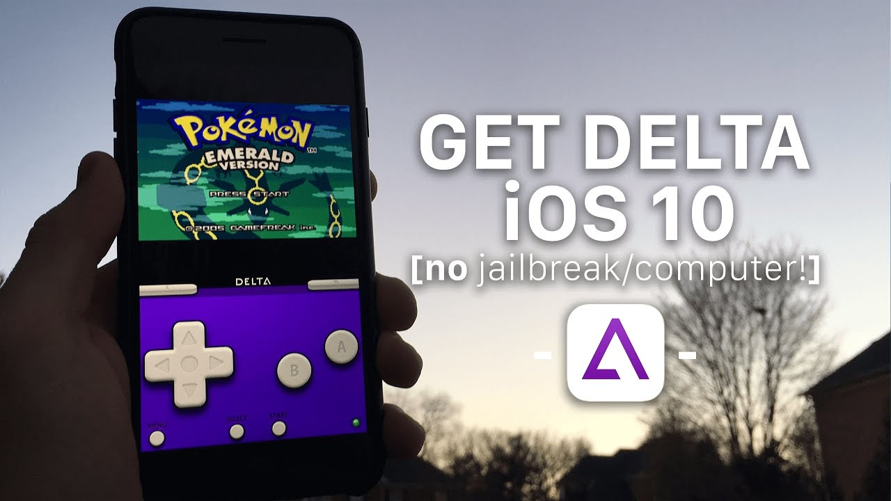 How to install Delta Emulator on iOS 10! (No Jailbreak/Computer)