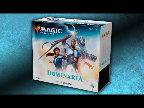 Dominaria-vide Bundle Box only-Fat Pack Box MTG Magic