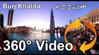 #360 video Burj Khalifa (arabiska: برج خليفة Burǧ Ḫalīfah, 'Khalifatornet'