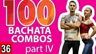 Bachata Tutorial 36: 75-100 Bachata Combos ( Marius\\u0026Elena Bachata )