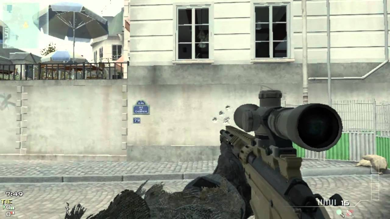 Call Of Duty MW3 Gun Review & Stats (MSR)