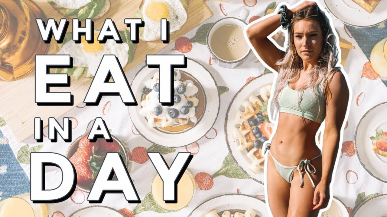 What I Eat In A Day! Pre Workout & Post Workout Meals