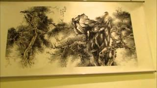 黃山雲-安徽漸江國畫院書畫展於台北中正紀念堂141102