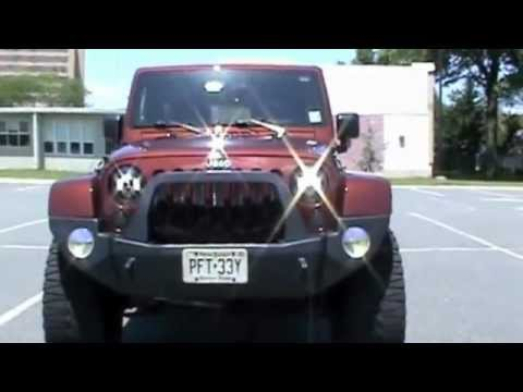 J W Speaker Headlights For Jeep Wrangler Jk Youtube