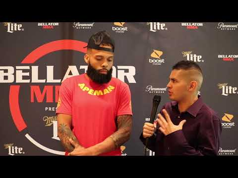 Jordan Young Talks Weight Cuts, Quotes Floyd Mayweather Ahead of Bellator 201