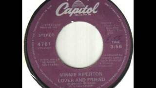 Minnie Riperton Lover And Friend