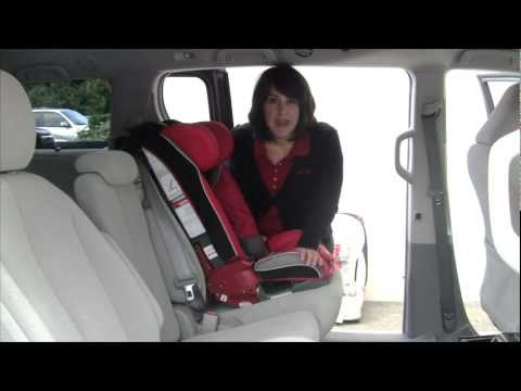 Install A Forward-facing Diono Car Seat With Lap/Shoulder Belt