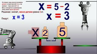 """видео урок математика 5 класс: """"Уравнения"""", ФГОС"""