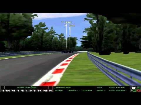 rFactor Thrust SSC Race in Monza (AI) {HD}