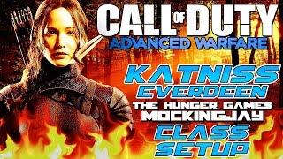 """Advanced Warfare - """"KATNISS EVERDEEN"""" Mockingjay Part 1 Class Setup - Hunger Games (Call of Duty AW)"""