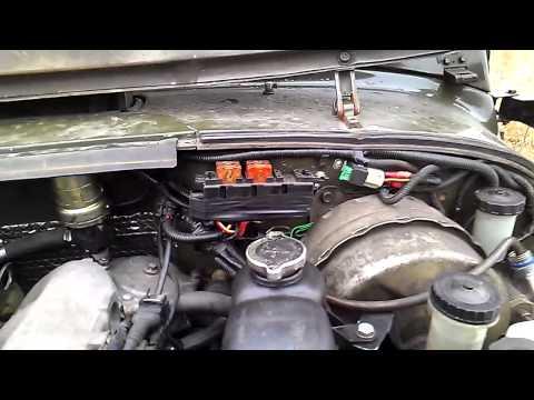 УАЗ 469 з мотором мерседес ОМ 603 - мини обзор