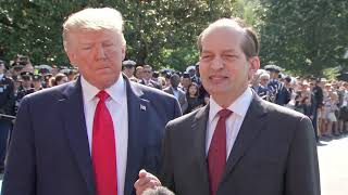 BREAKING: Alex Acosta RESIGNS Amid Jeffrey Epstein Case Pressure