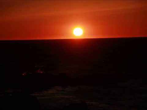 Solnedgang sett fra Jølle i kveld 1  mai 2014