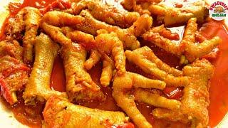 🐓Murgi ke panje मुर्गी के पंजे कैसे बनाए chicken panja recipe/chicken feet masala gravy|chicken leg