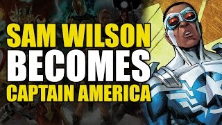How Sam Wilson/Falcon Became Captain America (Captain America: The Tomorrow Soldier)