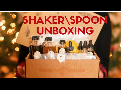 Shaker\Spoon Cocktail Subscription Unboxing