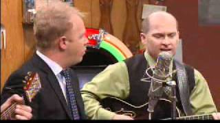 Dailey & Vincent- Bury Me Beneath The Willow Tree (Live on Larry