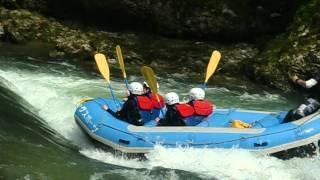 ラフティング水上(夏) ゆうさくリバーサーフィン