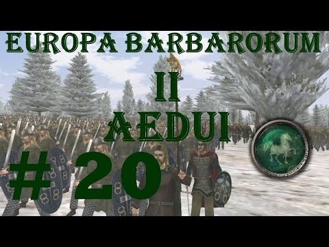"Europa Barbarorum 2 Aedui 20 ""Fatigue issues"""