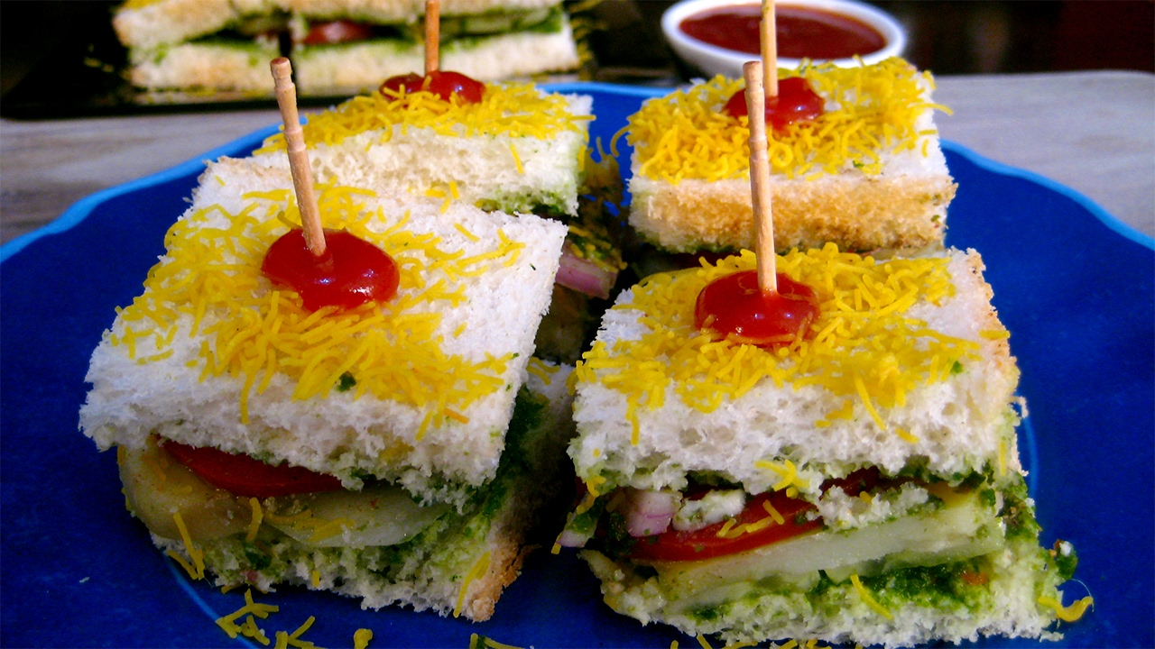 Bombay sandwich recipe a street food of mumbai india bombay veg bombay sandwich recipe a street food of mumbai india bombay veg sandwich recipe youtube forumfinder Image collections