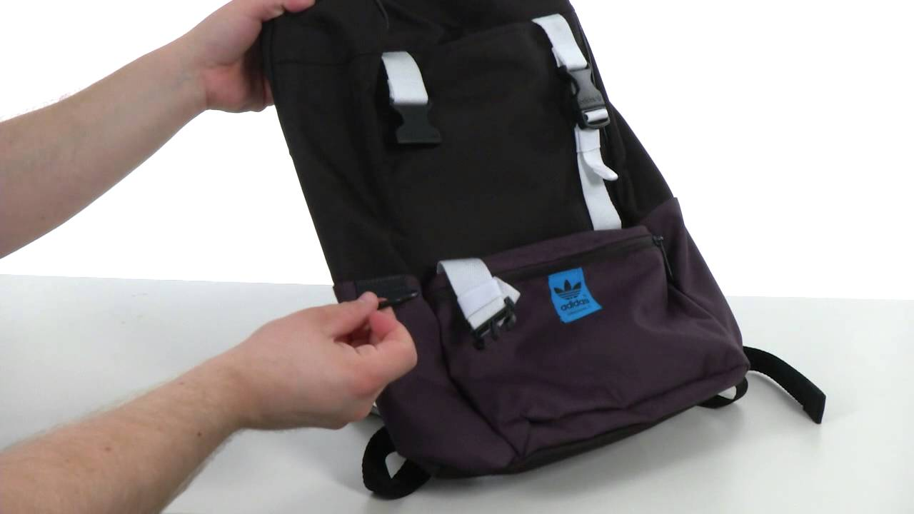adidas Originals BP Campus Backpack SKU  8260866 - YouTube bb1e0142c2a0e
