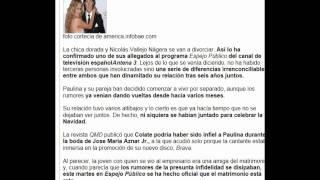 Paulina Rubio Se Divorcia !