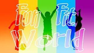 Fun Fit World - Lyrics Video / KIDS' MUSIC