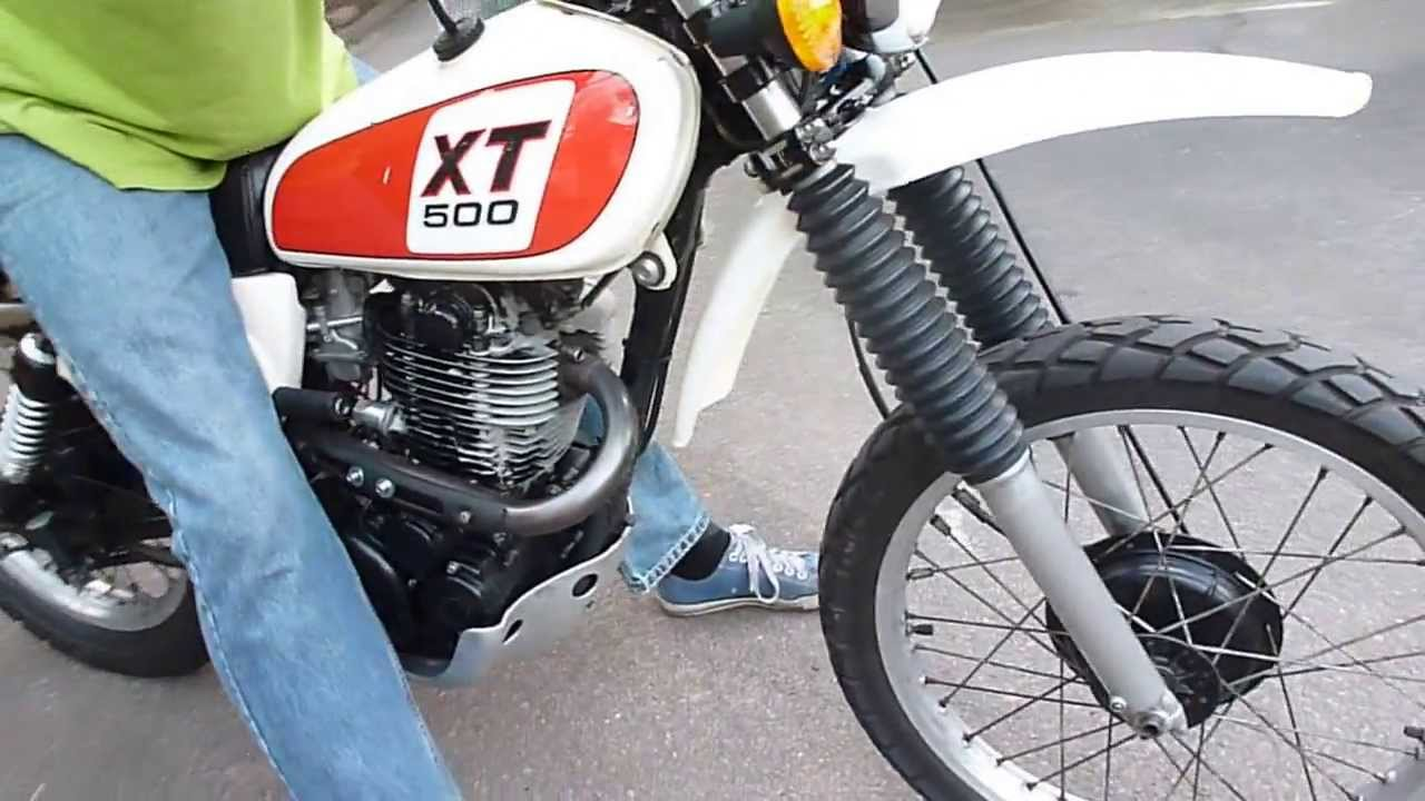 Xt500 Started Three Ways