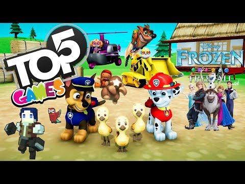 TOP 5 MELHORES JOGOS INFANTIS DO PS4 COM BELA FLASH - VLOG/GAMEPLAY
