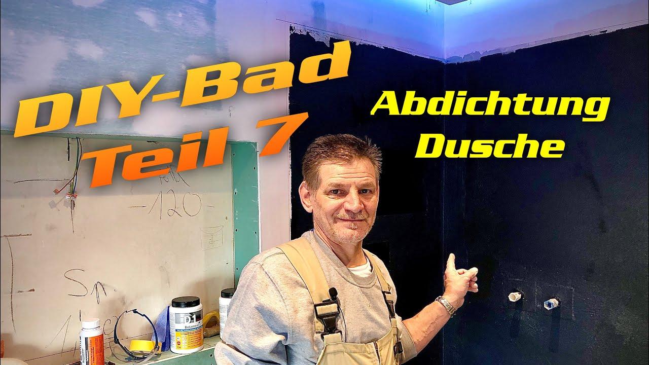DH   Badezimmer richtig abdichten  Trockenbau DIY