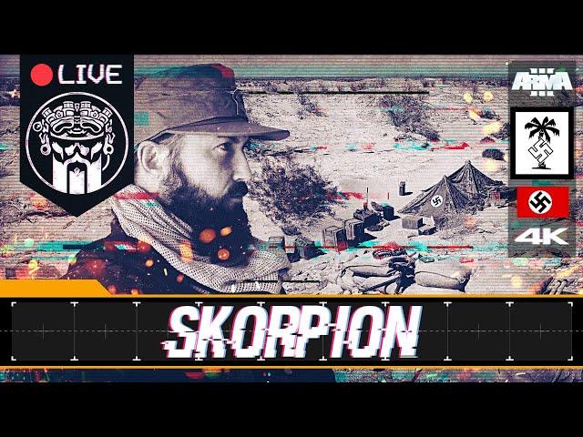 OPERACIÓN SKORPION - ARMA3 4K -  AFRIKA KORPS - SQUAD ALPHA & GRUPO PHOENIX - Español