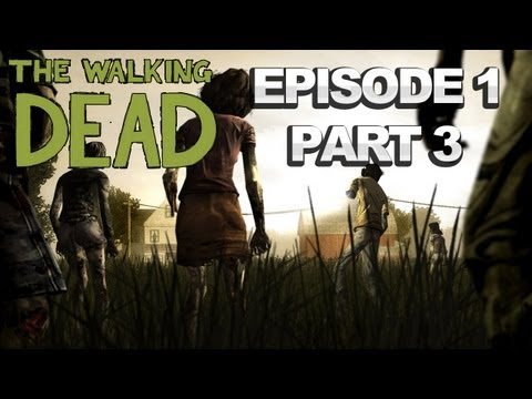 The Walking Dead: The Game - Ep.1 Everett Pharmacy Walkthrough (Part 3 of 5)