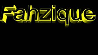 fahzique intro made by dilhole