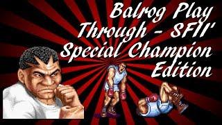 Street Fighter II: Balrog SEGA Genesis Play-Through & Ending