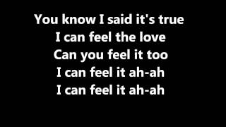 Rudimental ft. John Newman - Feel The Love (lyrics)
