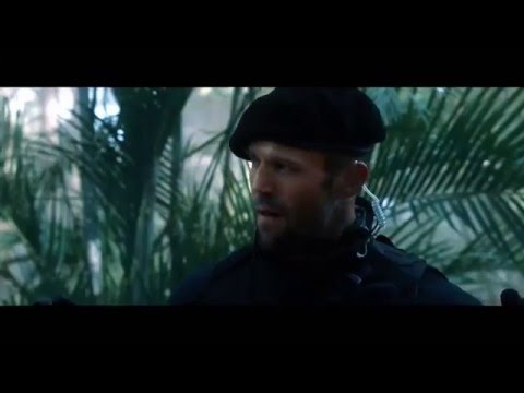 The Expendables 2 - Sniper Scene