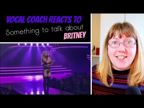 Vocal Coach Reacts To Britney Spears 'Something To Talk About' LIVE