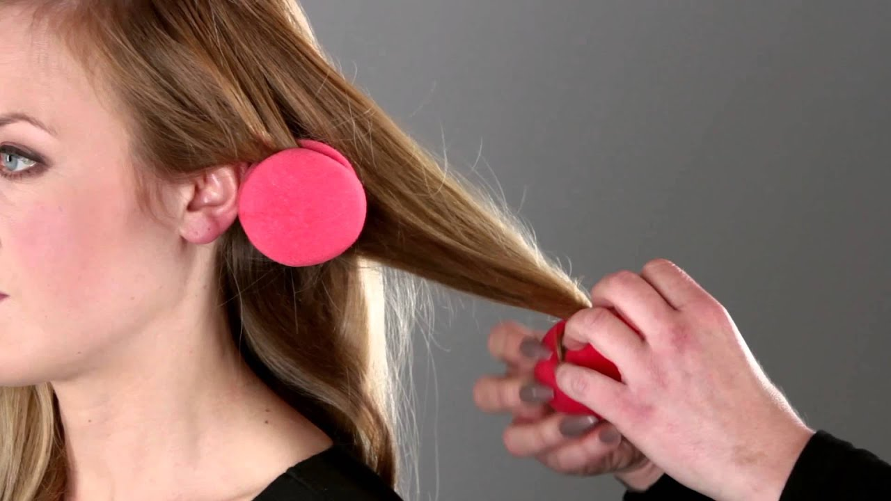 How To Use Sponge Ball Curlers